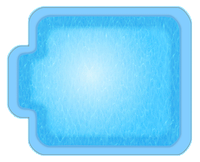 Композитные бассейны Купель 2 Размеры бассейна: 2,30 x 2,80 x 1,80 м