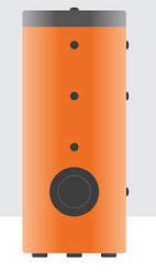 Буферная емкость ClimTek серия АВН с двумя теплообменниками
