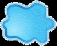 Композитные бассейны Рица Размеры бассейна: 3,00 x 2,30 x 0,45 м