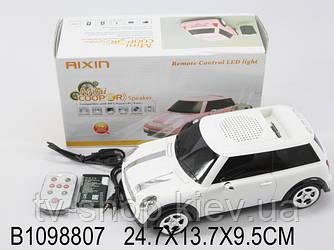 Спикер-машина Мini cooper (радио+MP3) черный