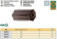 Бордюр полоса бар'єрна для рослин чорна b= 100 мм l= 9 м FLO-88703