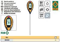 Анализатор почвы 4 в 1(РН, влажность, освещённость, температура) U= 9V FLO-89000
