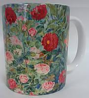 Чашки с цветным принтом, на заказ