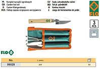 Набор садового инструмента Польша приусадебного 3 штуки FLO-99028