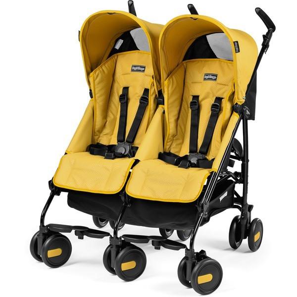 Прогулочная коляска-трость для двойни Peg Perego Pliko Mini Twin 2016