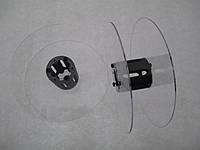 Катушка для мерных материалов : тесьма, ленты, нити, шнуры. Диаметр 121мм, диаметр катушки 35 мм, ширина 37 мм