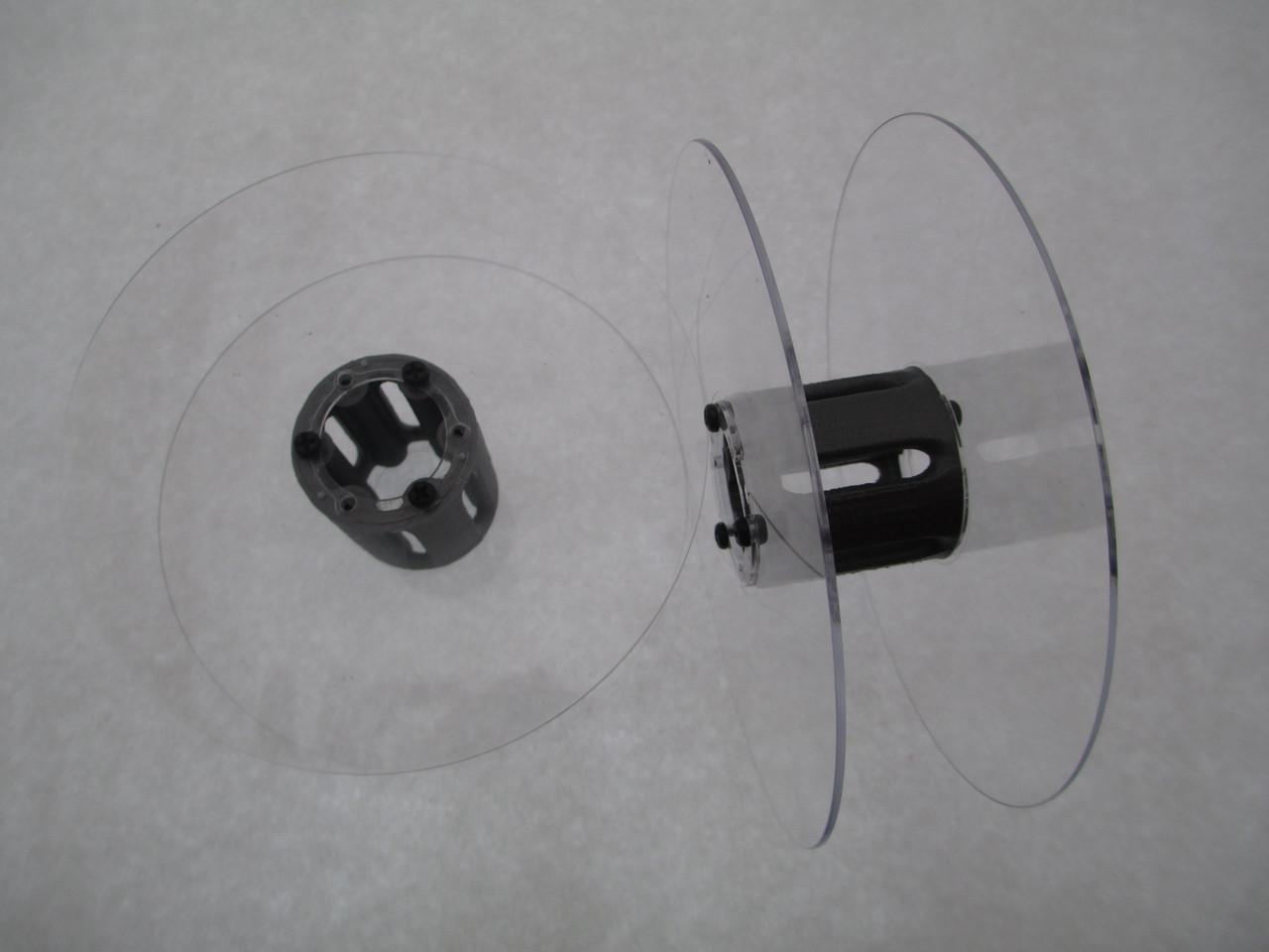 Катушка для мерных материалов : тесьма, ленты, нити, шнуры. Диаметр 121мм, диаметр катушки 35 мм, ширина 37 мм - Spark beadS в Киевской области