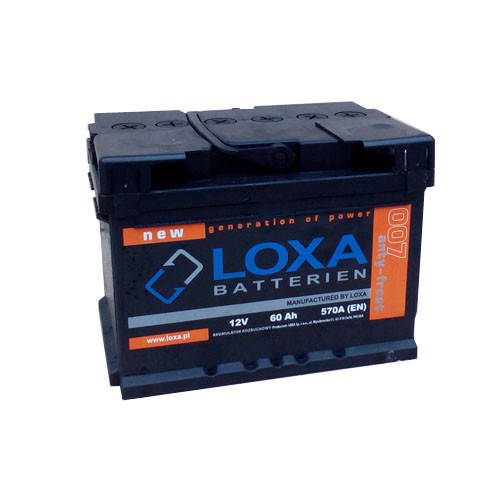 Аккумулятор Loxa 50Ah EN 450A L+(1) 207х175х175, фото 2