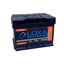 Аккумулятор Loxa 60Ah EN 570A R+(0) 242х175х175