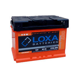 Аккумулятор Loxa 61Ah EN 540A L+(1) 242х175х175