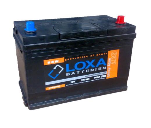 Аккумулятор Loxa 100Ah EN 900A Asia R+(0) 305х175х225, фото 2