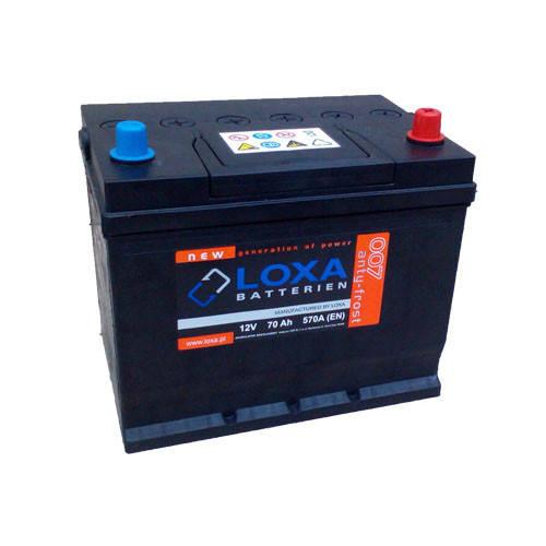 Аккумулятор Loxa 70Ah EN 570A Asia R+(0) 260х175х225, фото 2