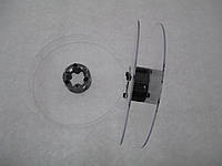 Катушка для мерных материалов : тесьма, ленты, нити, шнуры. Диаметр 121мм, диаметр катушки 35 мм, ширина 19 мм