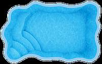 Композитные бассейны Одесса Размеры бассейна: 4,70 x 3,00 x 1,30 м