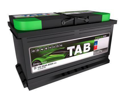Аккумулятор TAB ECODRY 92Ah EN850 AGM R+ B13, фото 2