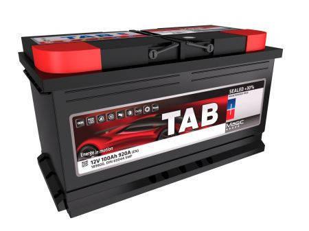 Аккумулятор TAB MAGIC 100Ah EN920 Ca/Ca R+ B13, фото 2