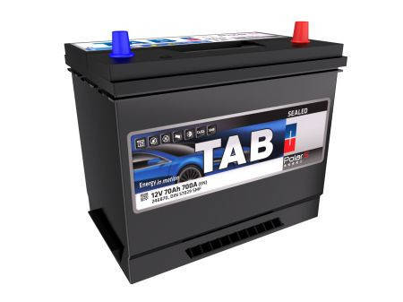 Аккумулятор TAB 70Ah EN700 POLAR S (Asia) R+, фото 2