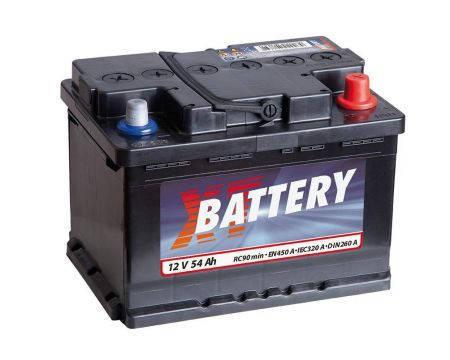 Аккумулятор XT Classic 54Ah EN450 R+, фото 2