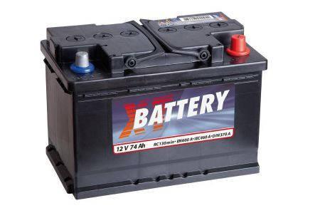 Аккумулятор XT Classic 74Ah EN600 R+, фото 2