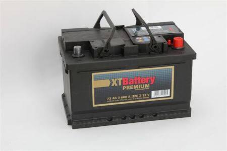 Аккумулятор XT PREMIUM 72Ah EN 670 R+, фото 2