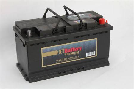 Аккумулятор XT PREMIUM 95Ah EN 800 R+, фото 2