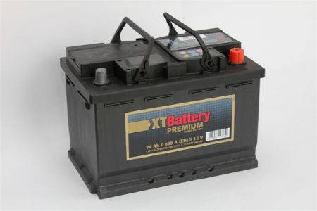 Аккумулятор XT PREMIUM 74Ah EN 680A R+, фото 2