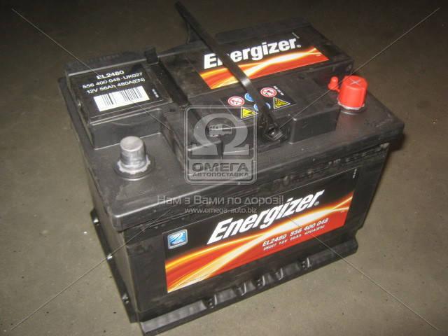 Аккумулятор Energizer 56Ah R+ EN480, фото 2