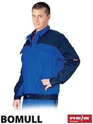 Куртка Bomull рабочая мужская синяя REIS Польша (спецодежда для строительных работ) BOMULL-J NG