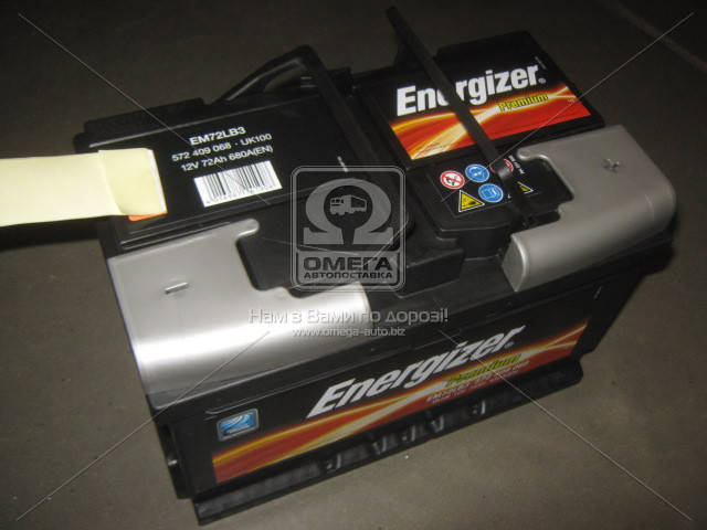 Аккумулятор Energizer Prem. 72Ah R+ EN680