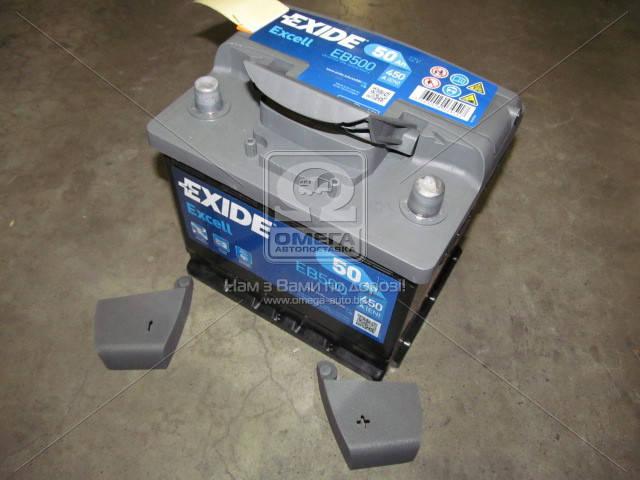 Аккумулятор Exide EXCELL 50Ah R+ EN450, фото 2