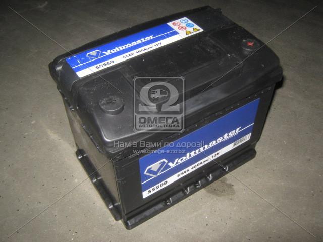 Аккумулятор VOLTMASTER 55Ah R+ EN460