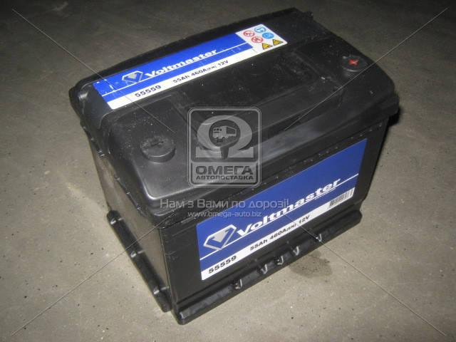 Аккумулятор VOLTMASTER 55Ah R+ EN460, фото 2