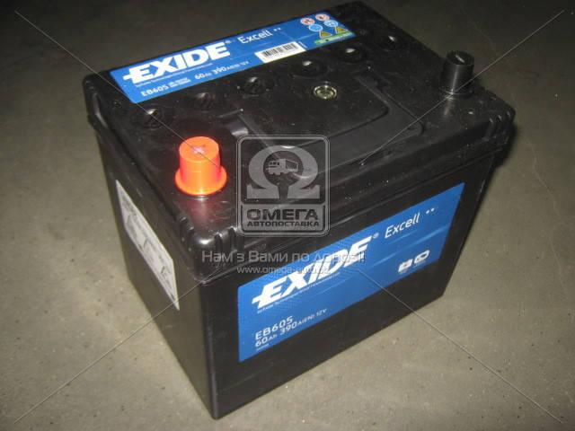 Аккумулятор Exide EXCELL 60Ah L+ EN390 Asia, фото 2