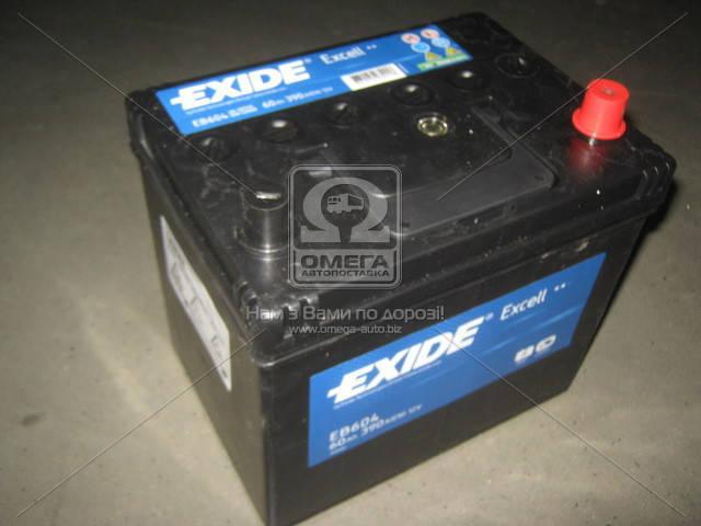 Аккумулятор Exide EXCELL 60Ah R+ EN390 Asia, фото 2