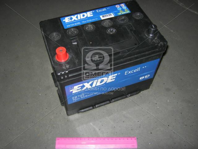 Аккумулятор Exide EXCELL 70Ah L+ EN540 Asia, фото 2