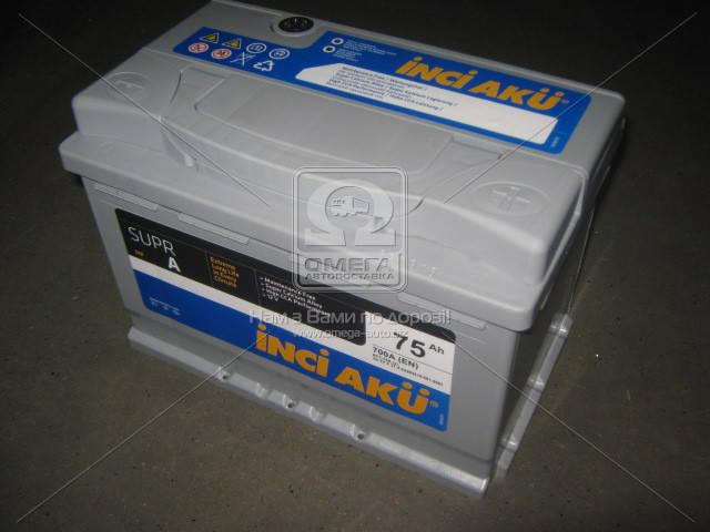 Аккумулятор INCI AKU SuprA 75Ah R+ EN 700, фото 2