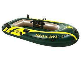 Надувная лодка 193х108х38 Intex 68345 Seahawk