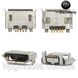 Коннектор зарядки для Blackberry 8220, 8520, 8530, 9100, 9520, 9550, 9700, оригинал