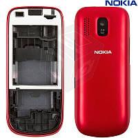 Корпус для Nokia Asha 202, оригинальный (красный)