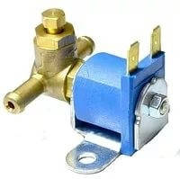Электромагнитный клапан бензина Torelli малый , вход D6 мм, выход D6 мм, (метал. штуцер)