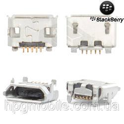 Коннектор зарядки для Blackberry 9100, 9105, оригинал
