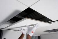 Подвесные потолки AMF THERMATEX Thermofon, белый 0,6м.*0,6м.*15мм.