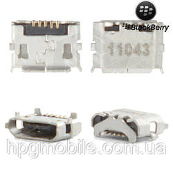 Коннектор зарядки для Blackberry 9350, 9360, 9370, оригинал