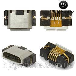 Коннектор зарядки для Blackberry 9380, Blackberry 9790, оригинал