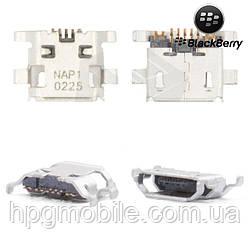 Коннектор зарядки для Blackberry 9800, 9810, оригинал
