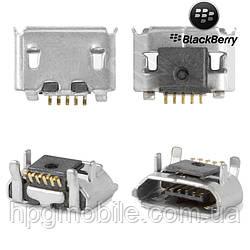 Коннектор зарядки для Blackberry 9670, 9850, 9860, 5 pin, micro-USB тип-B