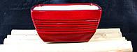 Керамический вазон для бонсаев и цветов(высота 10 см,диаметр 20 см)