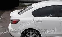 Спойлер на стекло Mazda 3 BL (спойлер заднего стекла Мазда 3 BL)
