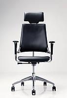 Кресло Hip Hop R HR Black,кожа Lux LE A  (Новый Стиль ТМ)