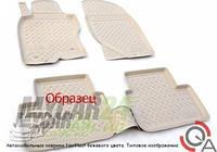 Норпласт Коврики в салон для Infiniti Q50 (V37) 3D (2013) полиуретан